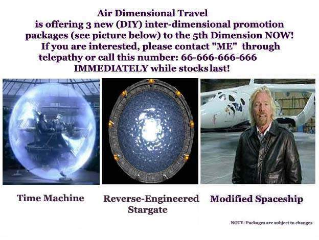 Dimensional Travel